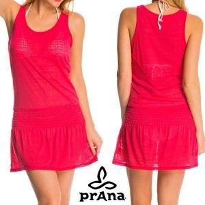 Prana Zadie Coverup Dress Large Pink